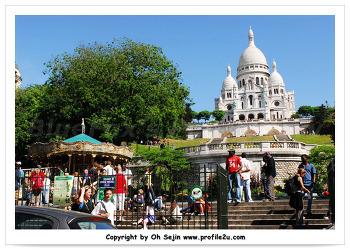 [오세진의 유럽자동차 여행] 파리 - 몽마르트르 (Montmartre)...