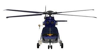 KAI 대한민국 경찰청용 수리온 헬기 도색 제안 디자인