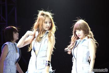 초창기 포미닛 직찍 사진 + 현아 굴욕 사진... 현아야 미안해 - 4Minute with hyunaya