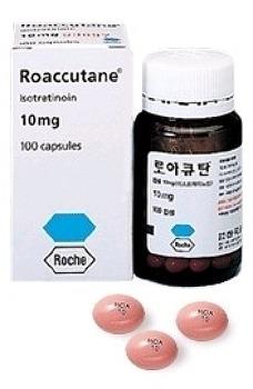 여드름 약 로아큐탄 (이소트레티노인)의 성분과 작용