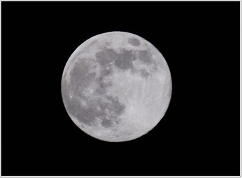 한가위 보름달 사진 촬영 초보를 위한 촬영 비법