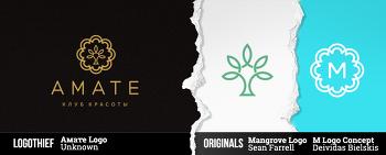 표절 로고를 알려주는 사이트 Logo Thief.