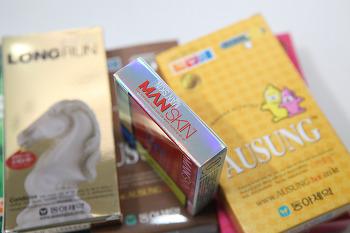 콘돔추천 맨스킨 올바른 성을 위한 아우성콘돔