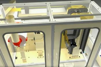 3ds맥스를 활용한 자동화장비 3D애니메이션