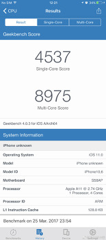 애플 A11 긱벤치4 유출 결과에 대해.