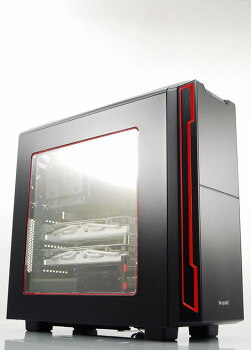 [포르까 리뷰]be quiet SILENT BASE 600 Window RED