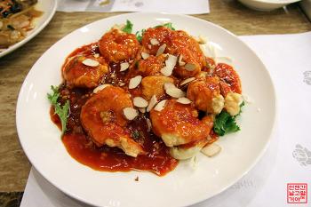 탕수육과 칠리새우가 맛있는 중식당 '란향' | 오산맛집