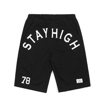 STAY HIGH MESH SHORT PANTS BLACK