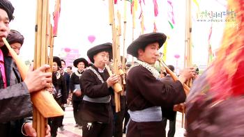 [귀주] 묘족 자매반 축제의 현장 - 태강 라오툰 시동
