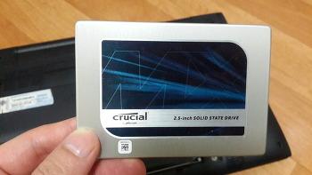 노트북 SSD 교체
