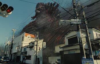 후쿠시마 원전 사태를 비판한 영화 <신 고질라>