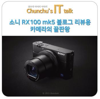 소니 RX100 mk5 블로그 리뷰용 컴팩트 하이엔드 카메라 끝판왕