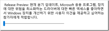 Windows 10 Insider Preview: [48] Release Preview Ring 추가