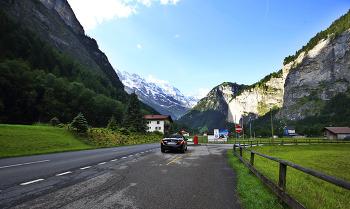 스위스 풍경 사진 - 스테첼베르크와 청정마을 뮈렌