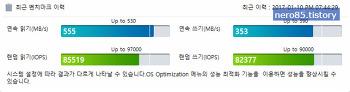 삼성전자 SSD RAPID Mode 와 SSD 드라이브 압축에 관한 짧은 고찰(?)