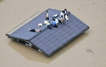[사진+영상]일본 히로시마 폭우를 보며...