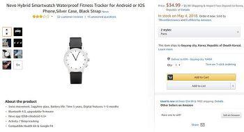 Nevo Hybrid Smartwatch : 계륵이 되어버린 스마트워치