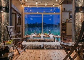 효율적이고 예쁜 7평짜리 초소형 트레일러 집