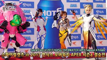 [영상] 스파이럴캣츠 in 2017 핫식스 오버워치 APEX 시즌4 결승전