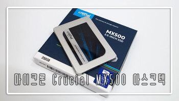 마이크론 Crucial MX500 250GB SSD