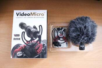 제품리뷰. RODE Videomicro