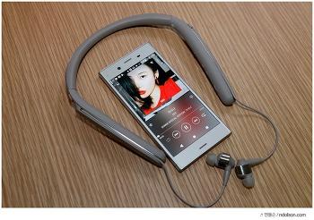 소니 노이즈 캔슬링 넥밴드 WI-1000X, 시끄러운 카페에서 소니 1000X 사용 후기