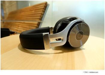 10만원 중반이지만, 고급스러운 가죽 메탈이 돋보인 브리츠 W855BT, 가성비 블루투스 헤드폰