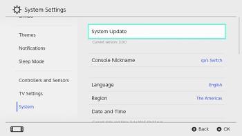 닌텐도 - 스위치 5.0.1 업데이트 배포