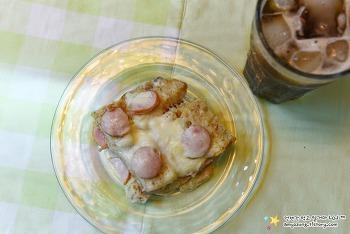 퍽퍽한 식빵끝부분이 입에서 살살 녹는 '햄치즈식빵푸딩 만들기'
