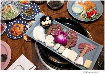 잠실 도쿄등심 먹으러가자! 고기 알아서 구워주는 최고급 서비스 고기집 맛집