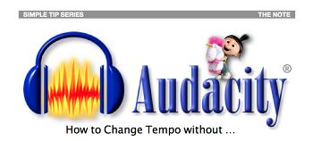 샘플이나 MR 의 Tempo / BPM 쉽게 바꾸기 with Audacity ( 심플 가이드 강좌 ) - 40번째 강좌