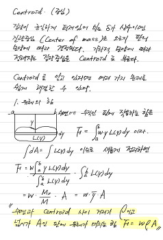 Centroid and Pappus's theorem