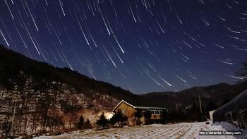[rx100m4] 별 궤적 사진, 별궤적 타임랩스