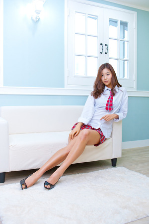 레이싱 모델 김현정