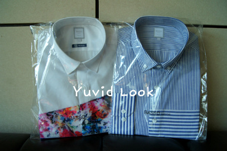 [Yuvid Look 구매이야기] 바쏘옴므 스트라이프 셔츠 (남자셔츠 추천, 단품셔츠 추천, 봄셔츠 추천)