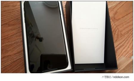 아이폰7 배송 오늘 받아본 아이폰7 플러스 색상 좋은 제트블랙!
