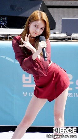 [CAM] 160505 박지윤의 가요광장 - 피에스타 (재이) by PIERCE