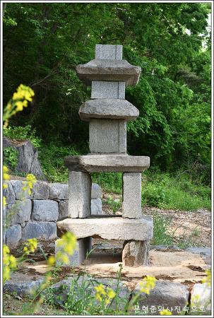 충남 예산 장복리삼층석탑