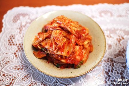 맛있는김치쇼핑몰, 김치주문은 락천솔치포기김치!