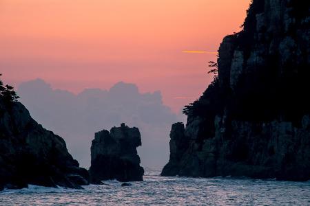 거제통영사진명소 별이 쏟아지는 해금강 오메가 야경&일출