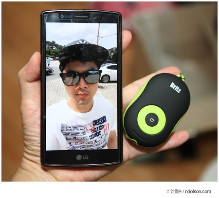 휴대용스피커 작은크기에 MP3플레이어 기능 갖춘 브리츠 BZ-A600 YO