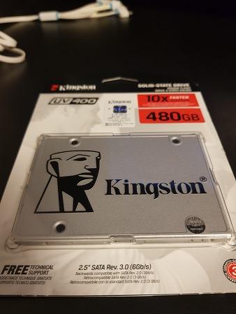 SSD kingston 480gb service 지티엠 코리아