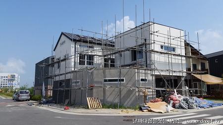 김포시 운양동 전원주택 신축사례 중 건축마감의 이모저모