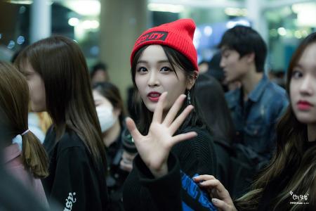 [171029] 우주소녀(WJSN) 선의 직찍 (6pic) By SuYa @인천공항입국