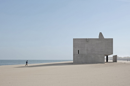 파도 위에 지어진 고독한 도서관, 난다이허 해변도서관