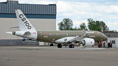 대한항공이 운용할 캐나다의 봉바르디에 CS 항공기