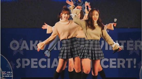 [17.01.14] 오크벨리 여자친구(GFRIEND) 너 그리고 나 (NAVILLERA) 직캠 (멀티캠 Ver.) by 황금미소