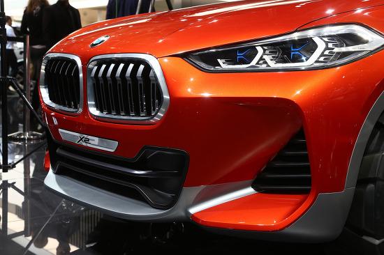 2016 파리모터쇼 + BMW X2 콘셉트 화려한 사진들 원본