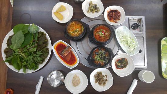 [거창맛집] 거창여행에서 점심 때 들를만한 맛 집 '왕우렁쌈밥'/거창여행/거창여행코스/거창 가볼만한곳/거창맛집추천