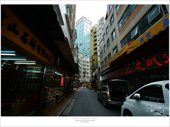 홍콩 여행 - 성완(Sheung Wan) 거리를 돌아다니며
